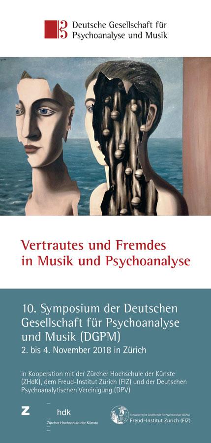 Falzflyer // für die Deutsche Gesellschaft für Psychoanalyse und Musik