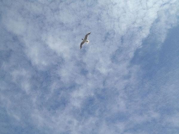Fotografie Himmel über Saint Maudez