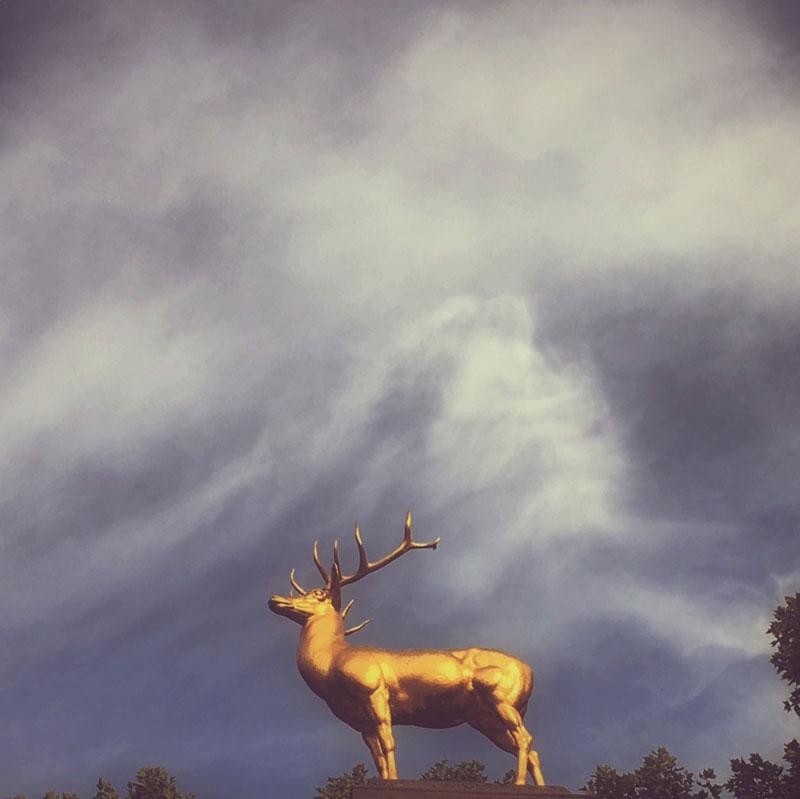 Fotografie Himmel über Schöneberg