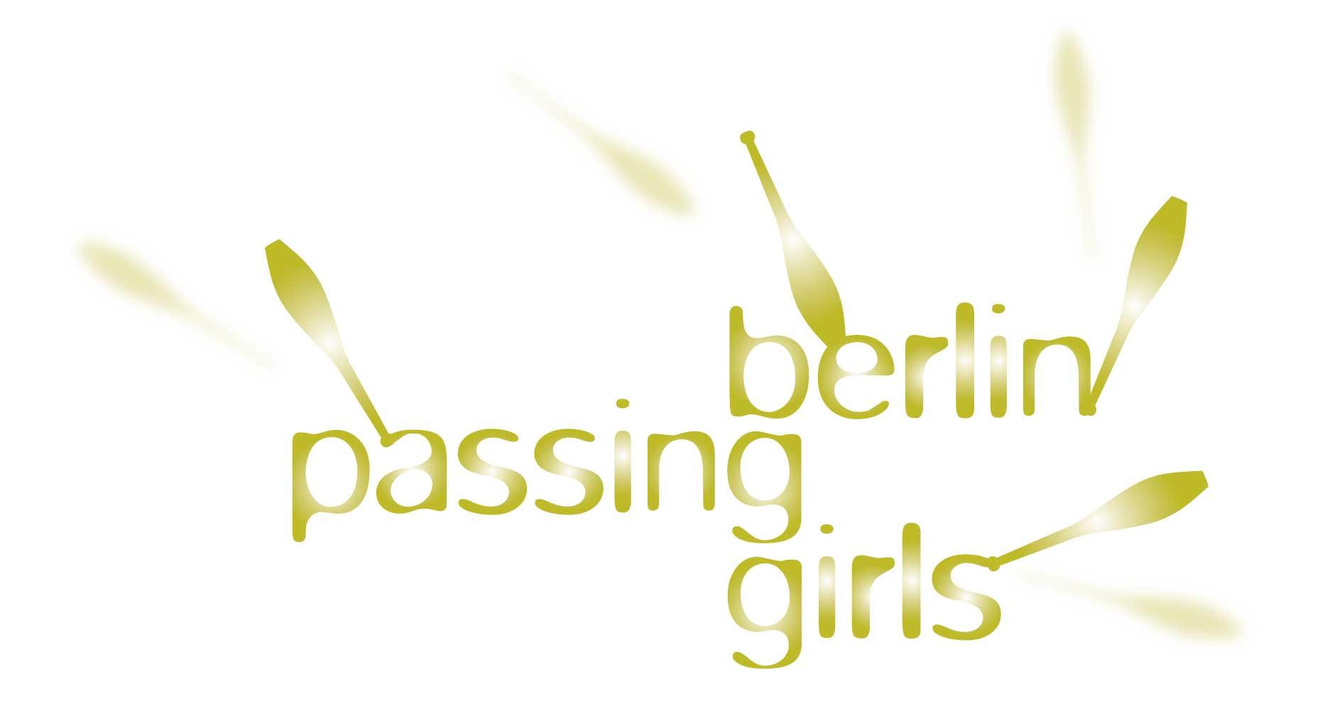 Logo für vier Jongleurinnen