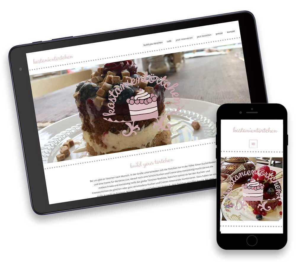 Website für ein Café in Berlin-Prenzlauer Berg